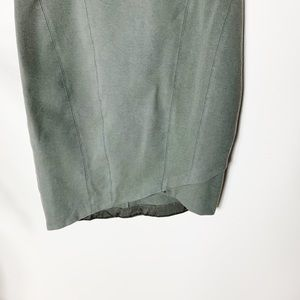 Helmut Lang Dresses - Helmut Lang Grey Short Casual Dress Asymmetrical